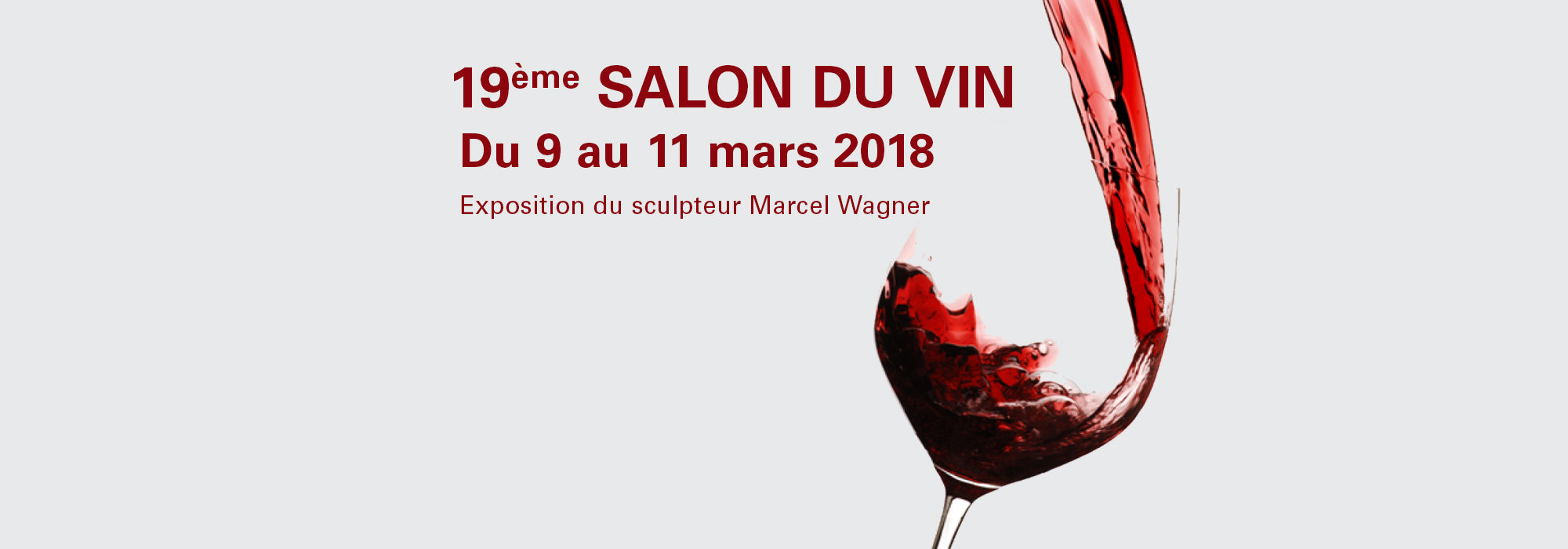 19 me salon du vin du 9 au 11 mars 2018 au centre de for Salon du vin champerret