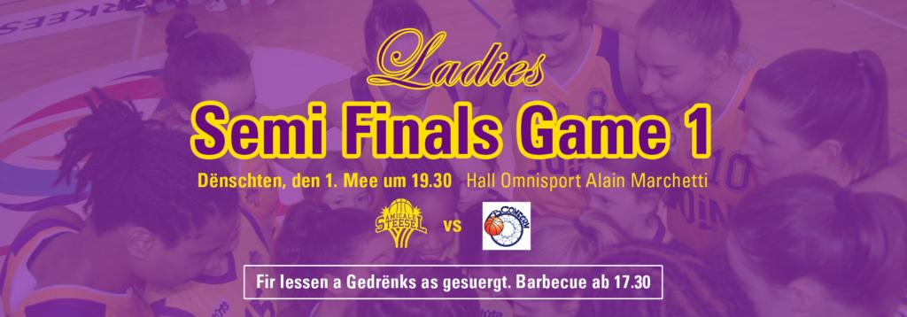 Semi Finals bei eise Ladies