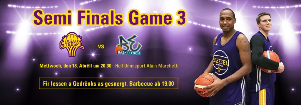 Semi Finals Game 3