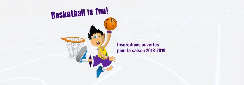 Inscriptions pour la saison 2018-2019
