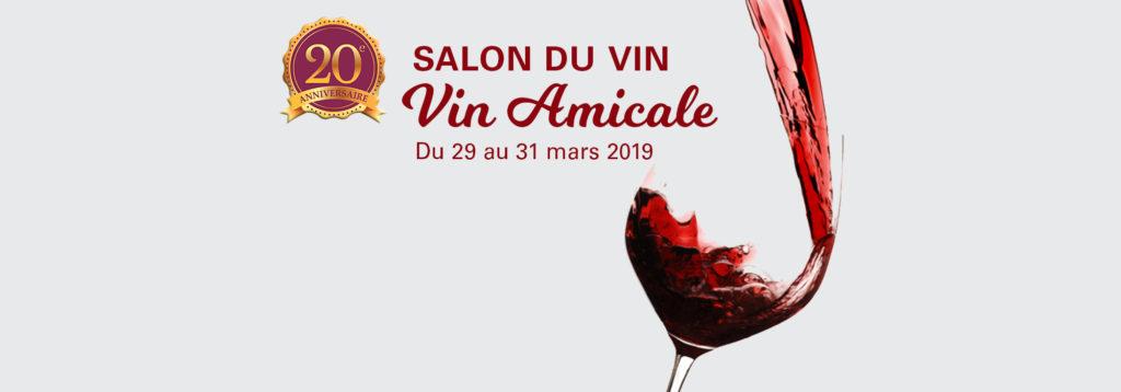 """20e Salon du Vin """"Vin Amicale"""""""