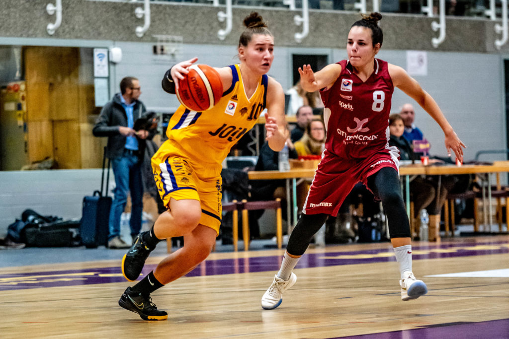Ladies: Amicale vs Sparta (75-53)