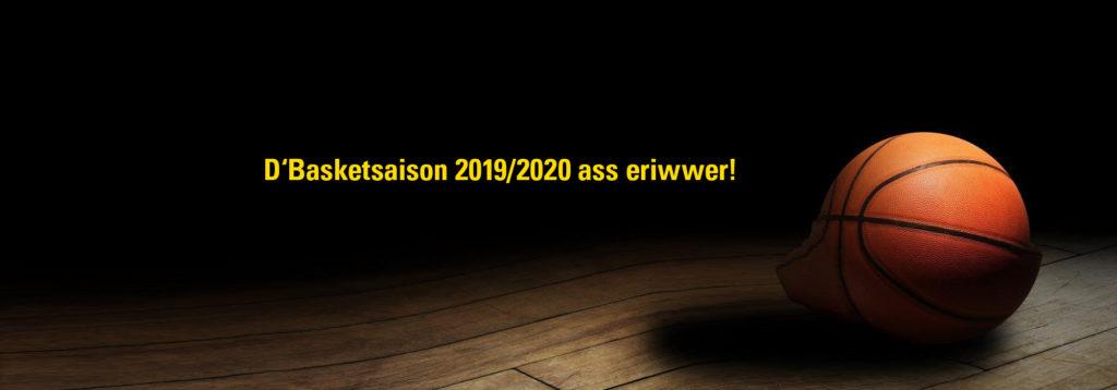 Saison 2019/2020 ass eriwwer / Season 2019/2020 is over
