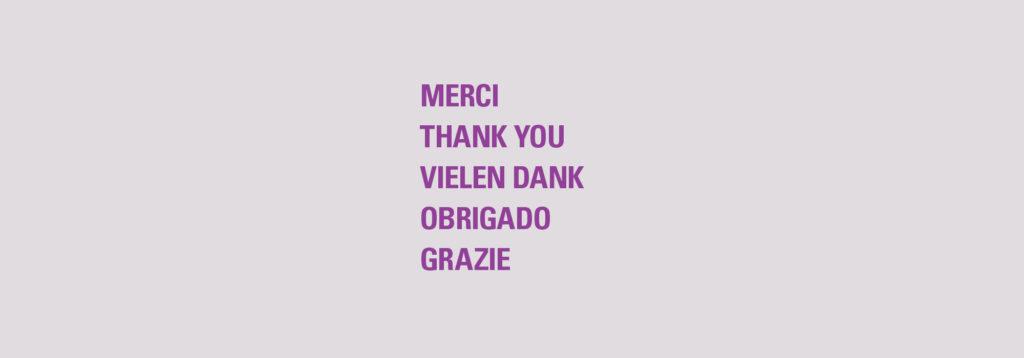 Merci un d'Sponsoren, Partner an daat ganz Benevolat!