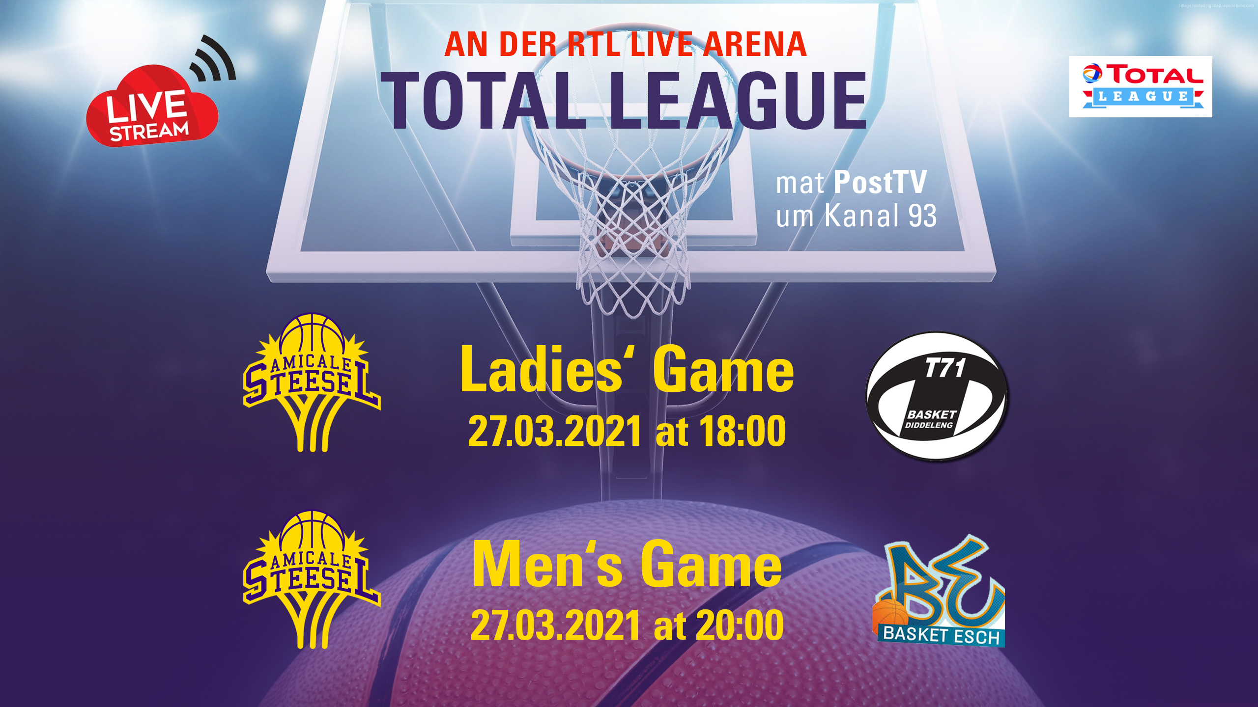 "Featured image for ""Men & Ladies home games"""