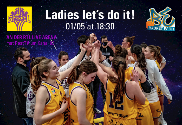 """Featured image for """"Ladies' Home Game vs Basket Esch"""""""