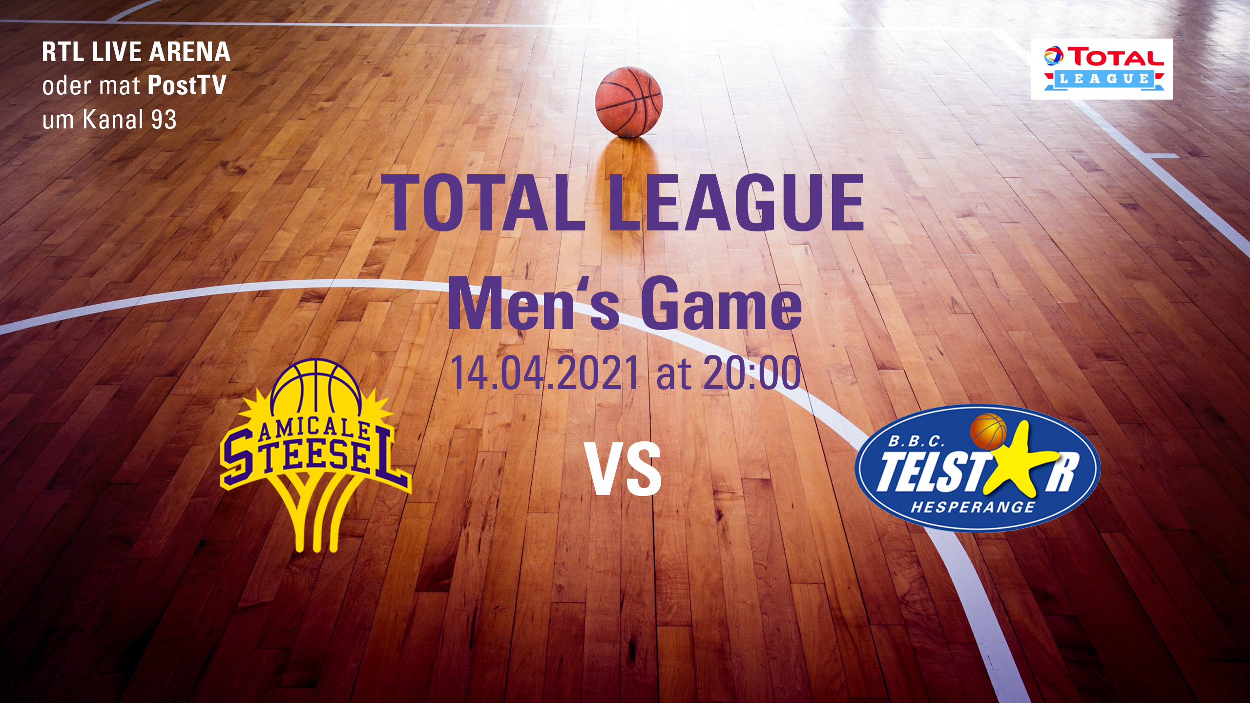 """Featured image for """"Men's Home Game vs Telstar"""""""
