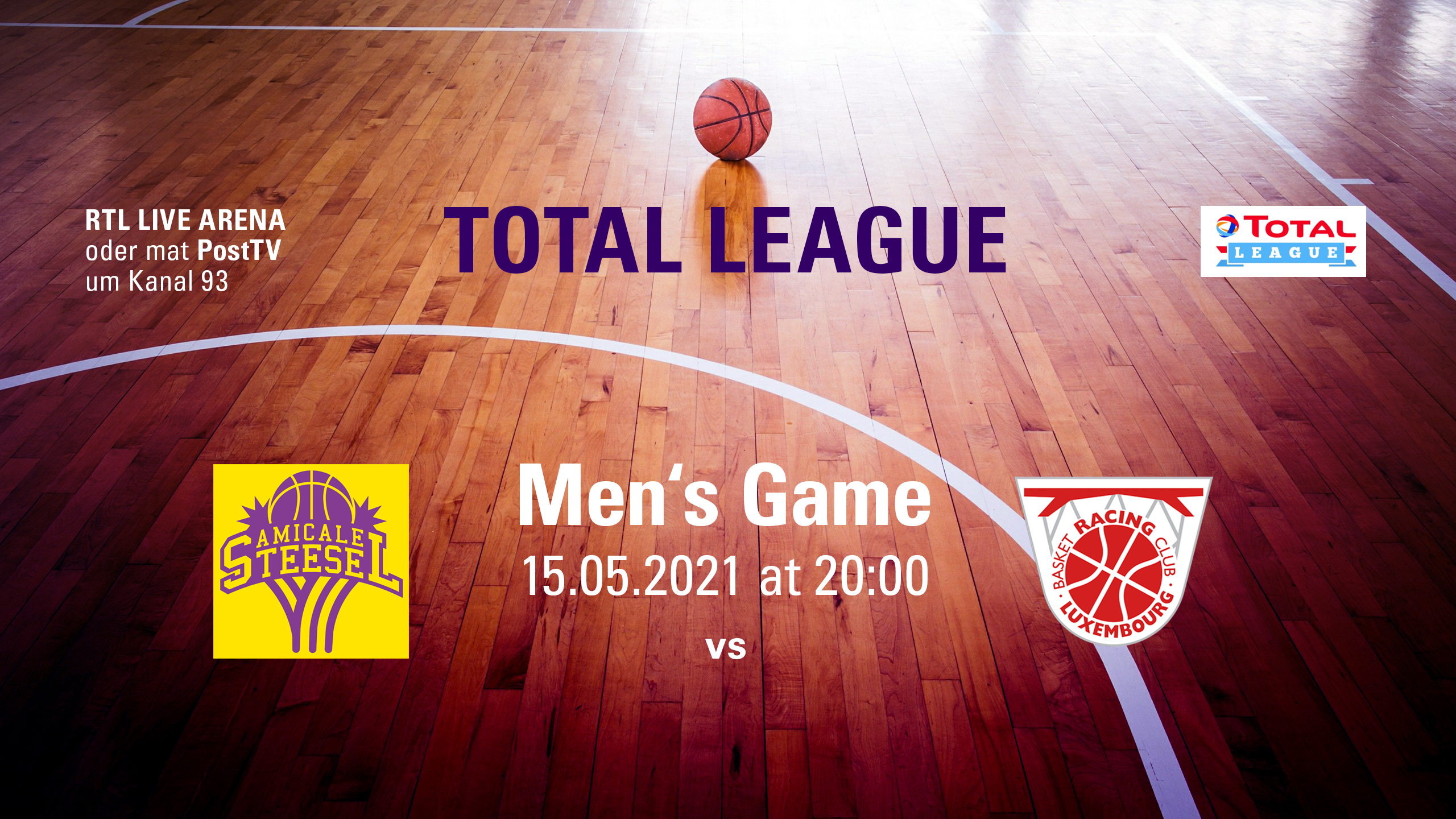 """Featured image for """"Men's Home Game vs Racing"""""""