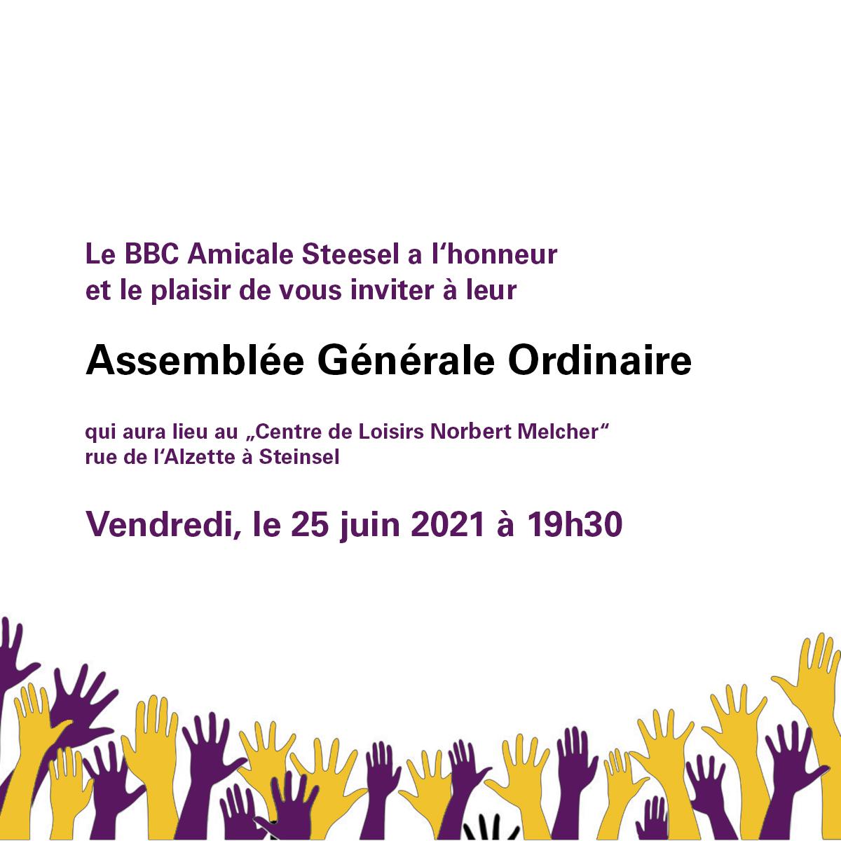 """Featured image for """"Assemblée Générale Ordinaire"""""""